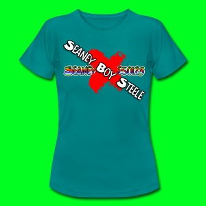 SeaneyG-BOY STEELE!!! T-Shirt [F] - Women's T-Shirt