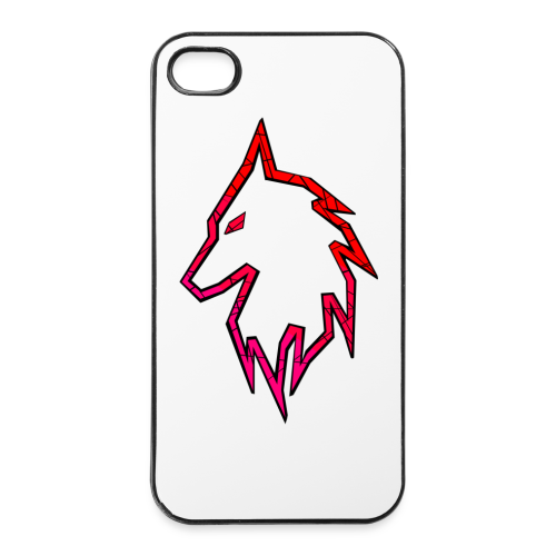 Fusionz Red Case (iPhone 4/4s) - iPhone 4/4s Hard Case
