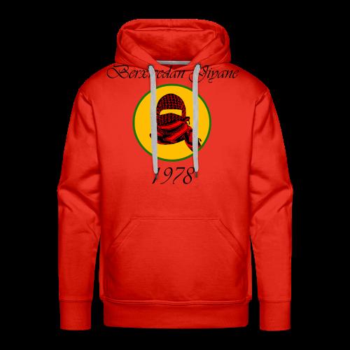 Berxwedan Pullover (Mann) - Männer Premium Hoodie