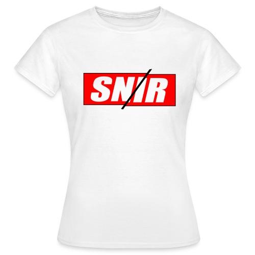 SNIR RED FEMME - T-shirt Femme