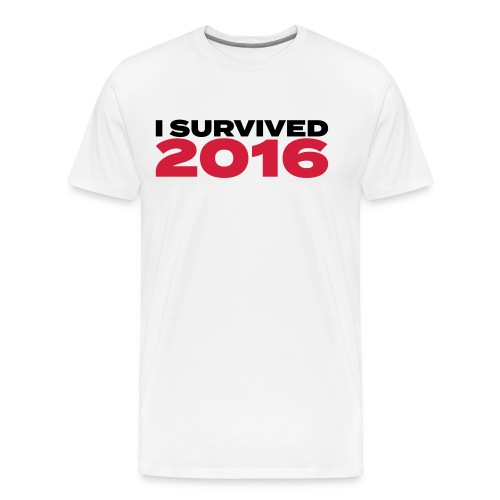 I survived 2016 - Männer Premium T-Shirt