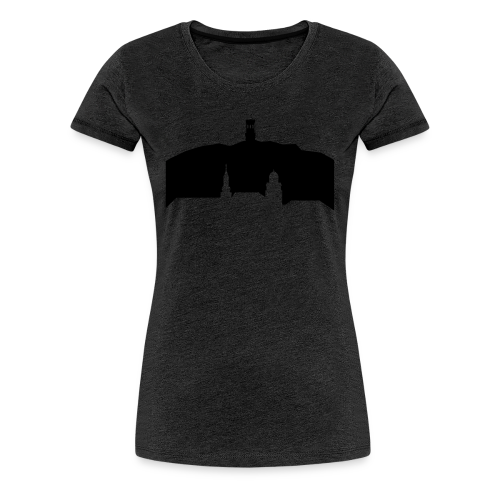 Witten Skyline mit Helenenberg - Frauen Premium T-Shirt