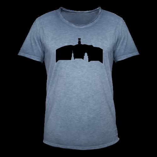 Witten Skyline mit Helenenberg - Männer Vintage T-Shirt