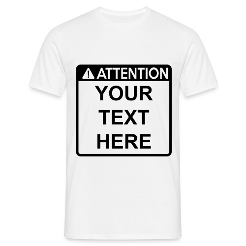 Attention Sign (1 colour)