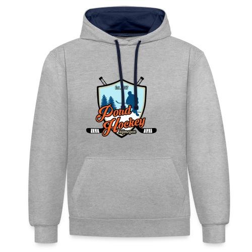 Premium Hoodie Pondhockey  - Contrast hoodie