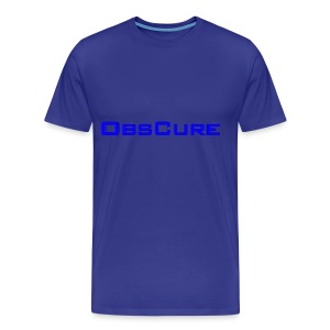 Men's Premium T Shirt : royal blue - Men's Premium T-Shirt