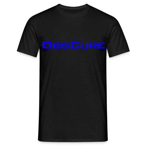 Men's T Shirt : black - Men's T-Shirt