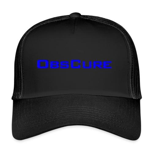 Trucker Cap : black/black - Trucker Cap