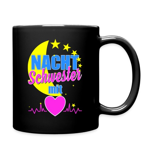 Krankenschwester Kaffeebecher Tasse für Nachtschwester im Krankenhaus - Tasse einfarbig