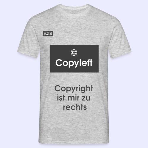 Copyleft T-shirt - Männer T-Shirt