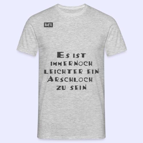 Arschloch T-shirt - Männer T-Shirt
