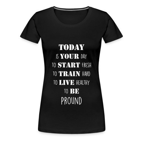 Woman T-Shirt - Frauen Premium T-Shirt