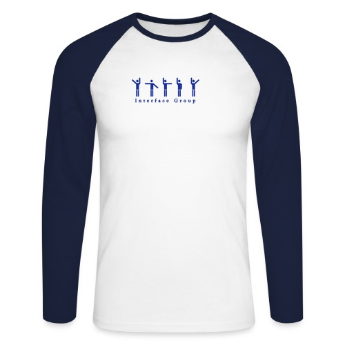 Human Interface - Männer Baseballshirt langarm