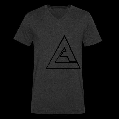 AL - Alexi Shirt Black 2017 - Männer Bio-T-Shirt mit V-Ausschnitt von Stanley & Stella