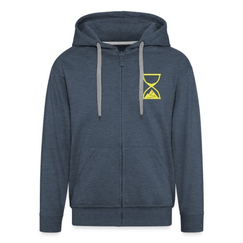 TTT zipped hoody1 - Men's Premium Hooded Jacket