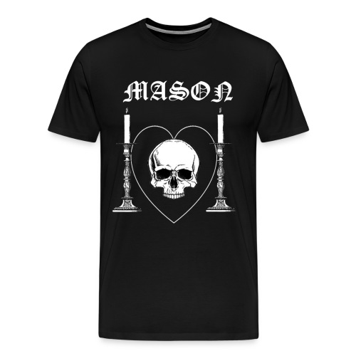 Mason - Premium-T-shirt herr