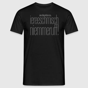 Pfälzer Motiv 2 - Männer T-Shirt