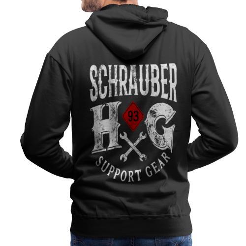 HG 93 Schrauber - Männer Premium Hoodie