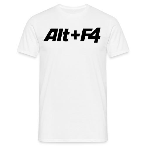 T-Shirt Alt+F4 - Männer T-Shirt