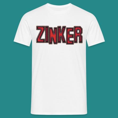 Zinker T-Shirt Logo - Männer T-Shirt