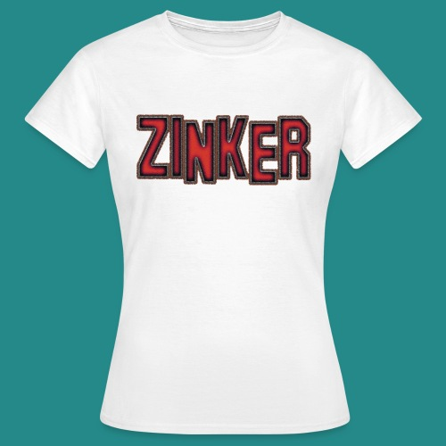 Zinker T-Shirt Logo - Frauen T-Shirt