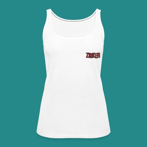 Zinker Top Logo - Frauen Premium Tank Top