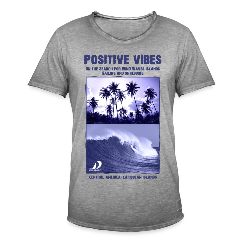 Positive Vibes - Men's Vintage T-Shirt