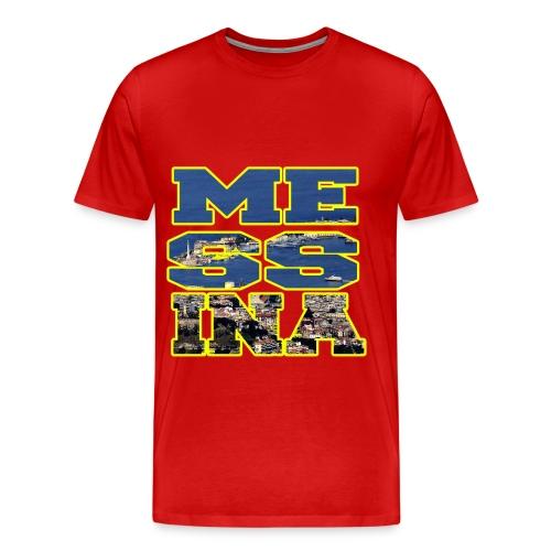MESSINA YELLOW - Maglietta Premium da uomo