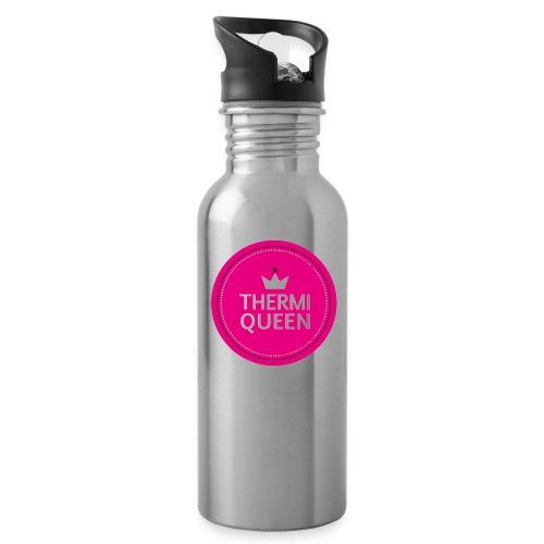 Flasche Thermiqueen Silber - Trinkflasche