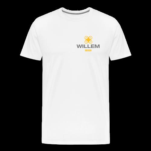 DDE - Eigen naam op T-shirt (men) | White - Mannen Premium T-shirt
