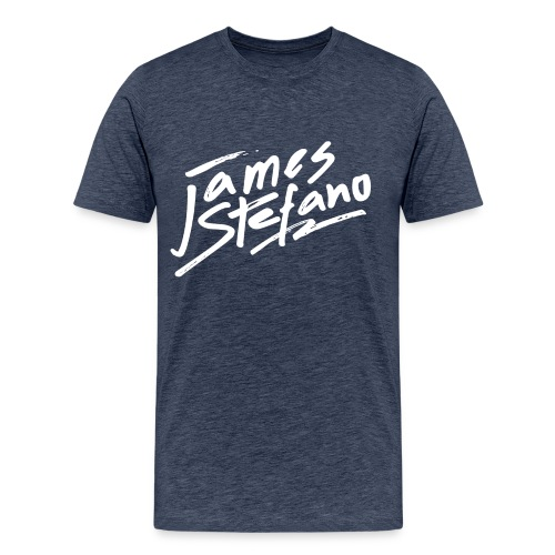 James Stefano 2017 Blue T-Shirt for men - Mannen Premium T-shirt