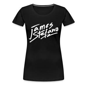 James Stefano 2017 Black T-Shirt for Women - Vrouwen Premium T-shirt