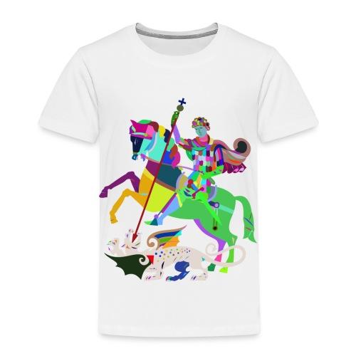 Reiter Mosaik - Kinder Premium T-Shirt