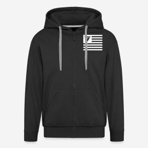 THTV Zipper - Männer Premium Kapuzenjacke