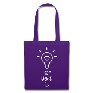 you are my light - Tote Bag