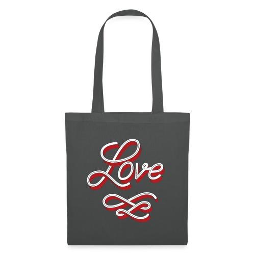 Love Tote Bag - Stoffbeutel