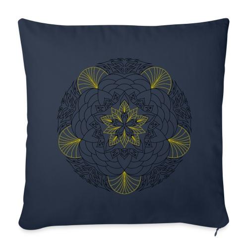 coussin mandala - Housse de coussin décorative 44x 44cm