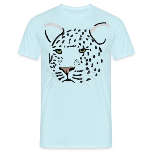 léopard - T-shirt Homme