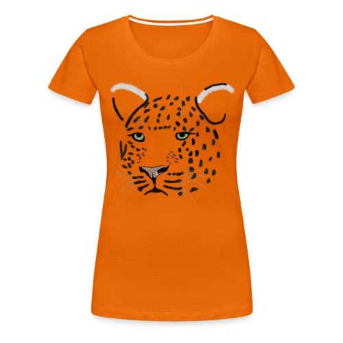 léopard - T-shirt Premium Femme