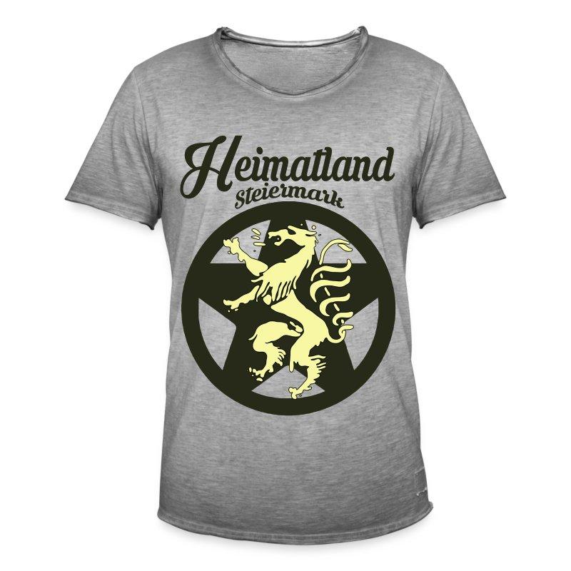 heimatland steiermark m nner vintage t shirt spreadshirt. Black Bedroom Furniture Sets. Home Design Ideas