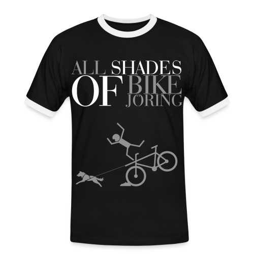 All Shades Of BIKEJÖRING – Shirt - Männer Kontrast-T-Shirt