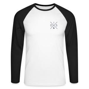 OIS Longsleeve Shirt Duo - Mannen baseballshirt lange mouw
