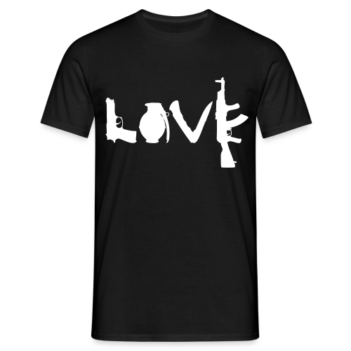 L.O.V.E. … love - Men's T-Shirt