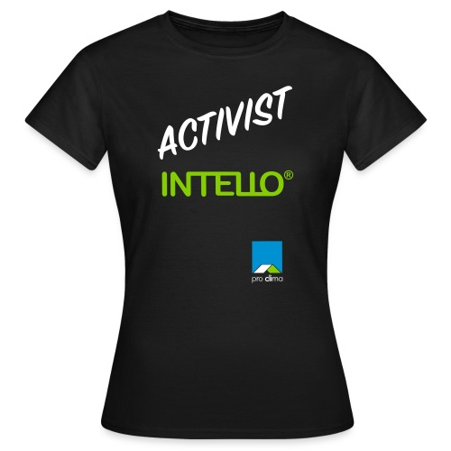 Shirt Intello Activist - Frauen T-Shirt