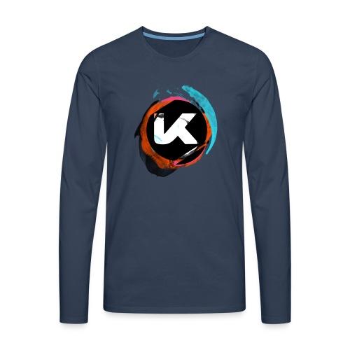 Kosen Splash Long Sleeves Shirt Man - Men's Premium Longsleeve Shirt