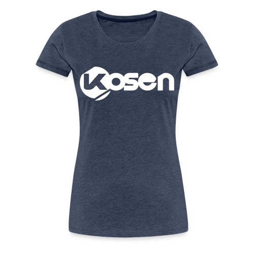 Kosen Letters Shirt Girl - Women's Premium T-Shirt