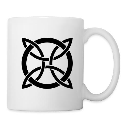 Tasse entrelacs - Mug blanc