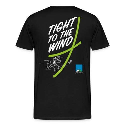 Männer Premium T-Shirt - Windsurfing