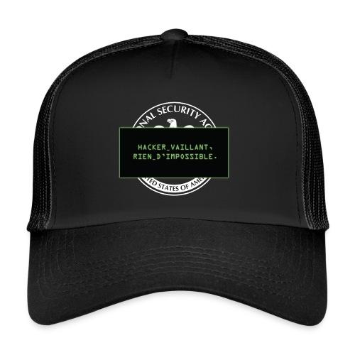 Hacker vaillant rien d'impossible - Trucker Cap