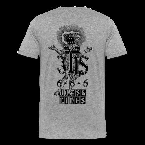 Iesus Hominum Salvator - Männer Premium T-Shirt